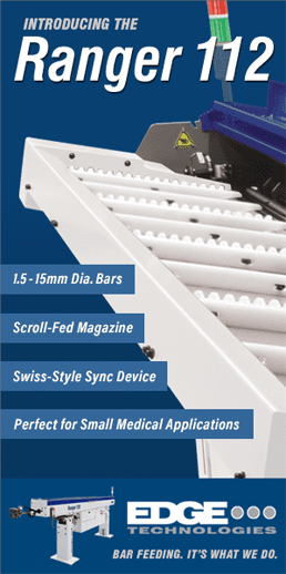 Learn more about the EDGE Ranger 112 Bar Feeder